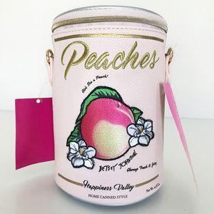 New Betsey Johnson Aint She a Peach Crossbody